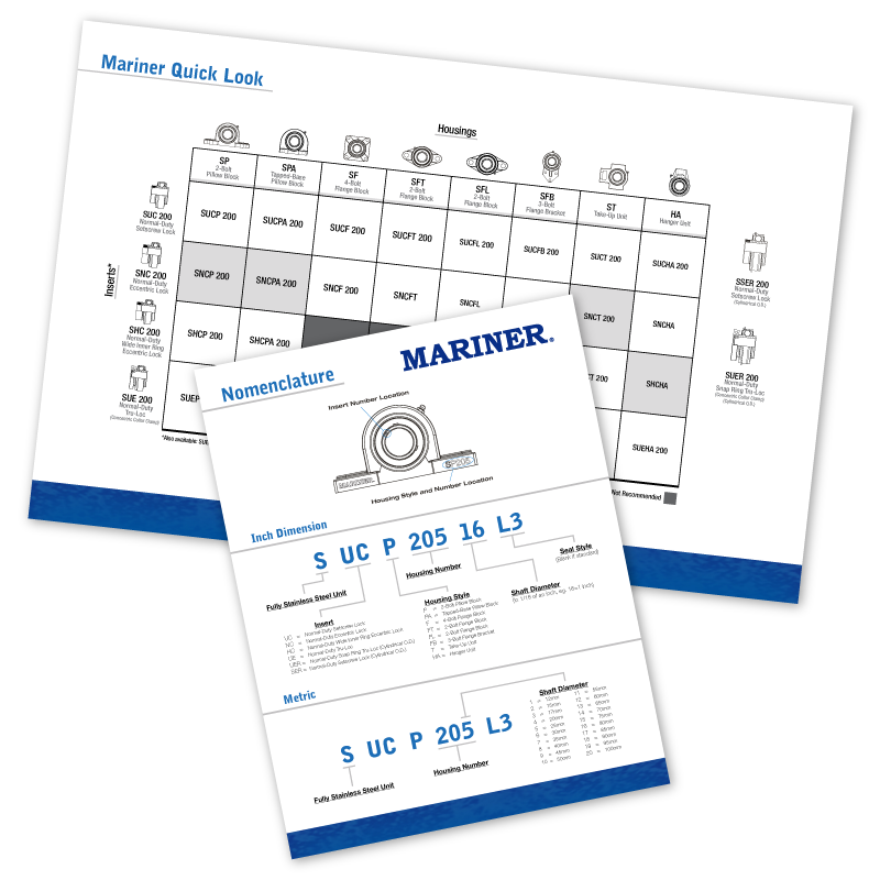 Mariner Brochures Graphic
