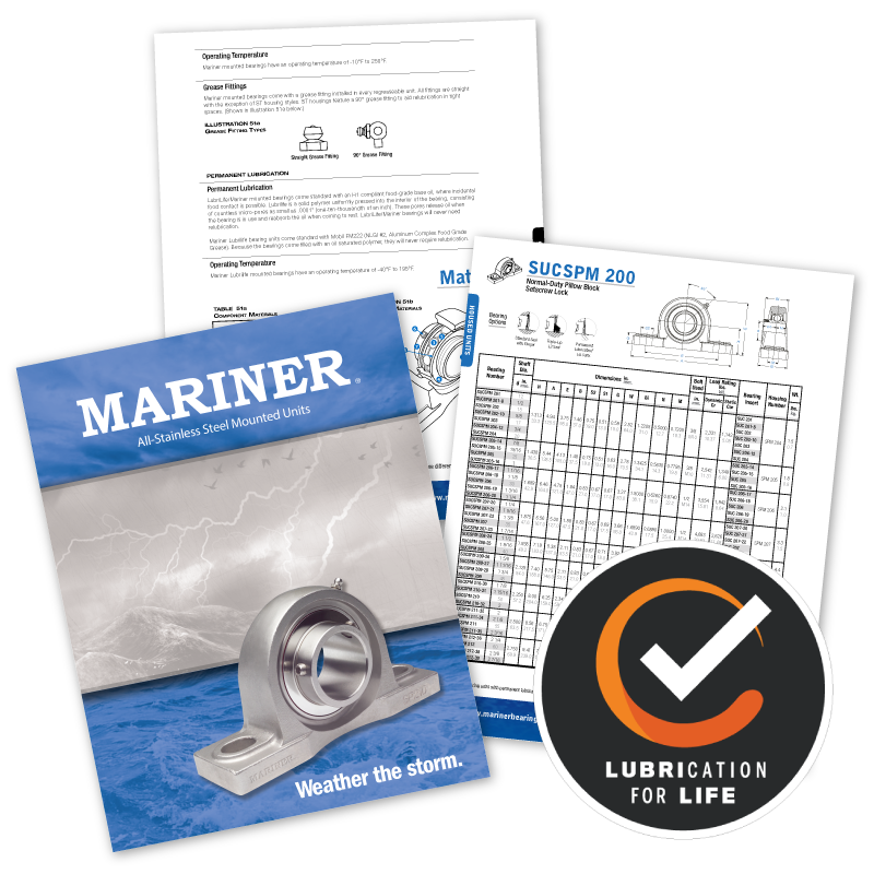 Mariner-Lubrilife Catalogs Graphic